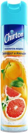 Освежитель воздуха Эврика Эллас АО Chirton Грейпфрут и Апельсин 300 мл освежитель воздуха chirton лимон 300 мл