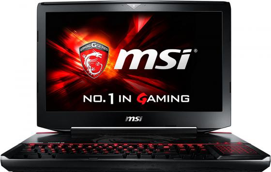 Ноутбук MSI GT80S 6QE-296RU Titan SLI 18.4 1920x1080 Intel Core i7-6820HK 1Tb + 128 SSD 16Gb 2 х nVidia GeForce GTX 980M 8192 Мб черный Windows 10 Home 9S7-181412-296 ноутбук msi gs43vr 7re 094ru phantom pro 14 1920x1080 intel core i5 7300hq 1 tb 128 gb 16gb nvidia geforce gtx 1060 6144 мб черный windows 10 home 9s7 14a332 094