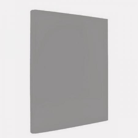 Папка с прижимным механизмом ламинированная, серая IND PR СЕР папка с прижимным механизмом ф a4 ассорти черн син красн зелен сер 0 4 мм