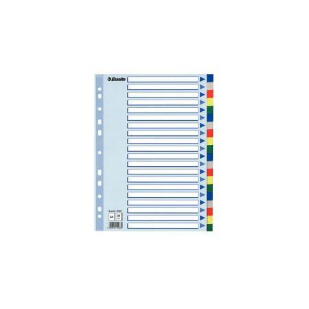 Разделитель цветной пластиковый, А4, на 20 разделителей 15263 коллекторы дизайнсталь гидравлический разделитель гртк 100 100 40 195 квт