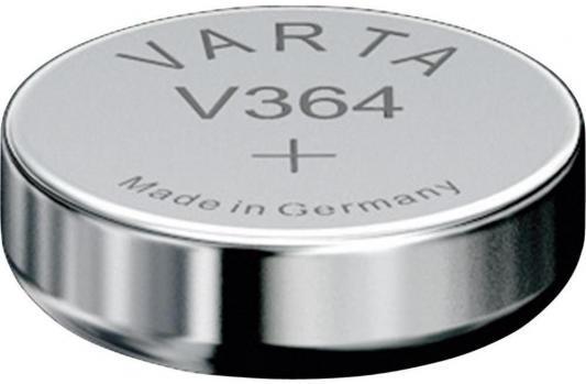 Батарейка Varta SR621SW SR60 V 364 1 шт игра настольная футбол