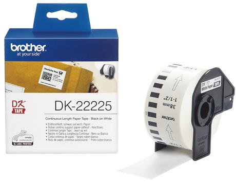 Этикетка Brother DK-22225 38ммх30.48м