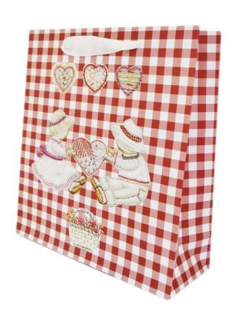 Пакет подарочный Winter Wings BG1532 1 шт 23 х 24 см