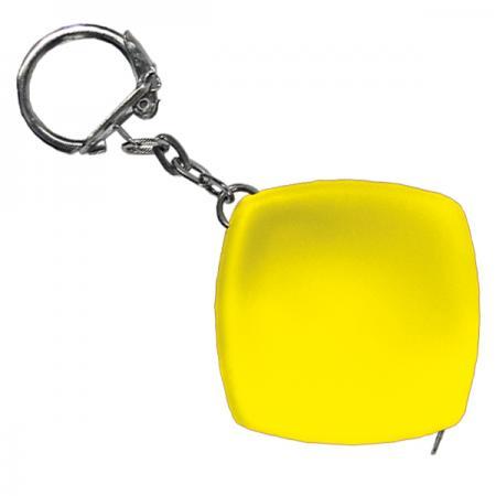 Брелок-рулетка, пластик, желтый Lbr10466/Ж 30 3000r