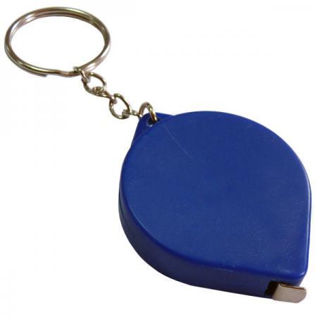 Брелок-рулетка, пластик, синий Lbr10475/С рулетка пластик синий lrk10489 с