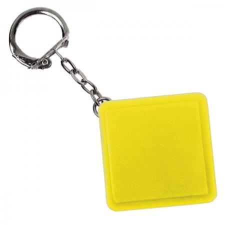 Брелок-рулетка квадратный, пластик, желтый Lbr10478/Ж брелок рулетка квадратный пластик зеленый