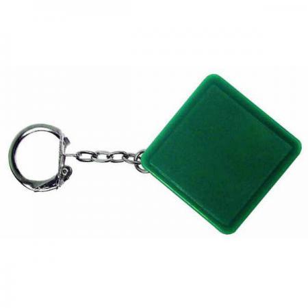 Брелок-рулетка квадратный, пластик, зеленый Lbr10478/З брелок рулетка квадратный пластик зеленый