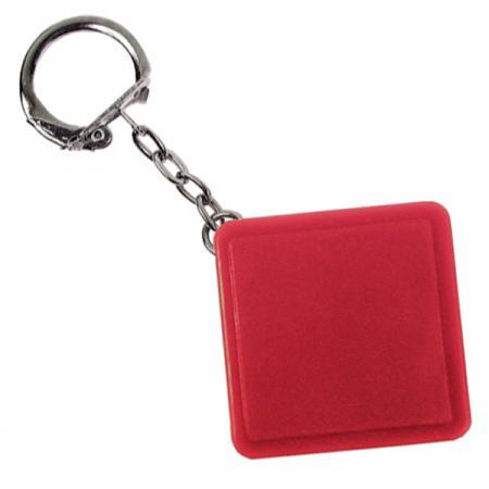 Брелок-рулетка квадратный, пластик, красный Lbr10478/К амлодипин таб 10мг 30