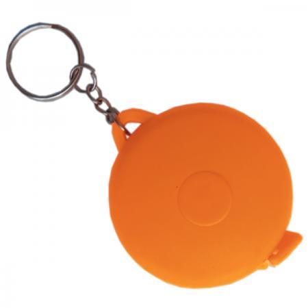 Брелок-рулетка, пластик, оранжевый Cbr20116B/ОР брелок рулетка пластик оранжевый круглый