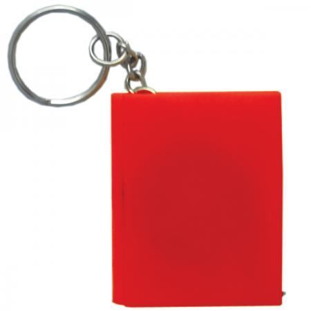Брелок-рулетка КНИГА, пластик, красный Cbr20121/К амлодипин таб 10мг 30