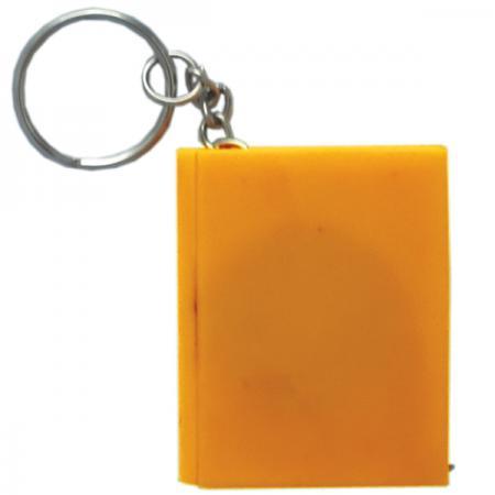 Брелок-рулетка КНИГА, пластик, оранжевый Cbr20121/ОР брелок рулетка пластик оранжевый круглый