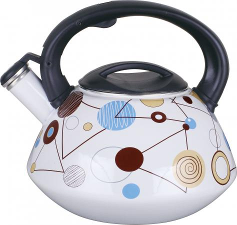 Чайник Winner WR-5111 2.8 л металл белый рисунок чайник 0 6 л winner чайник 0 6 л