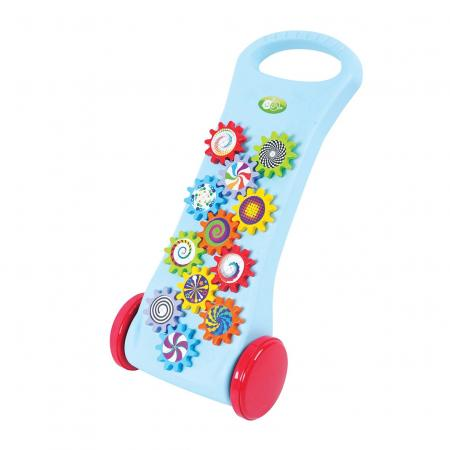 Каталка Playgo Play 1765 пластик от 1 года на колесах разноцветный каталка ходунки play 2254 лев playgo