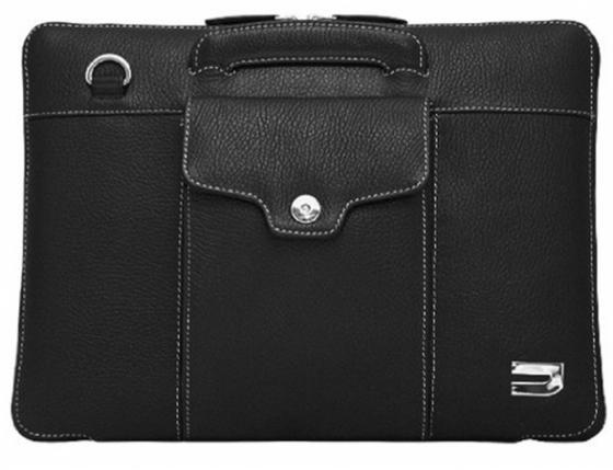 """Чехол-портфель Urbano для MacBook Air 11"""" кожаный, цвет: черный. цена и фото"""