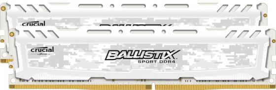 Оперативная память 8Gb (2x4Gb) PC4-19200 2400MHz DDR4 DIMM Crucial BLS2C4G4D240FSC системный блок just home intel® core™ i5 7400 3 0ghz s1151 h110m r c si 8gb ddr4 2400mhz hdd sata 2tb 7200 32mb 6144mb geforce gtx 1060 atx 600w