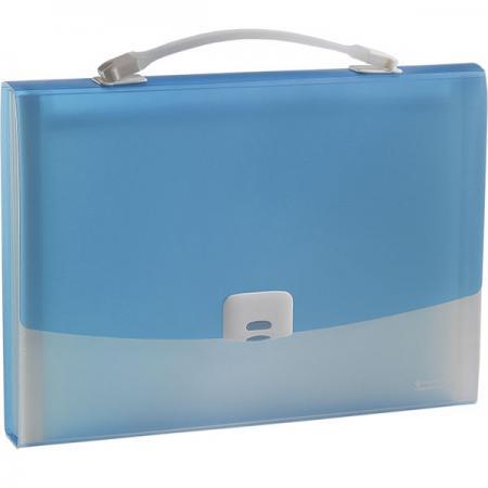 где купить Папка-портфель FOCUS А4, 13 отделений, PP, 0,7 мм, голубой 0410-0021-03 дешево