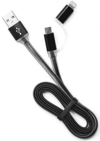 Кабель USB 2.0 AM-microBM 1м Gembird черный CC-mAPUSB2bk1m кабель gembird usb 3 0 microbm usb 3 1 type c 1 8м ccp usb3 mbmcm 6