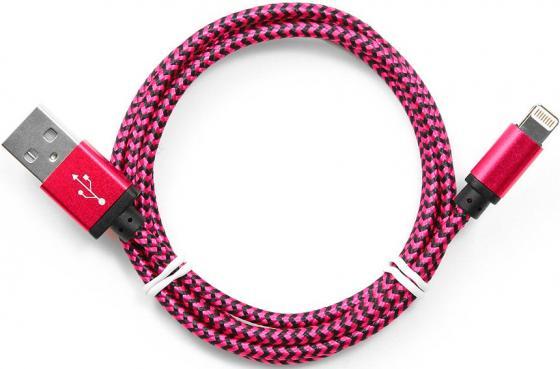 Кабель Lightning 1м Cablexpert круглый CC-ApUSB2pe1m кабель usb 2 0 cablexpert am lightning 8p 1м темно серый металлик