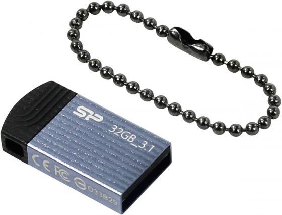 Флешка USB 32Gb Silicon Power Jewel J20 SP032GBUF3J20V1B синий цена и фото
