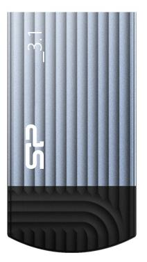 Флешка USB 16Gb Silicon Power Jewel J20 SP016GBUF3J20V1B синий цена и фото
