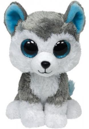 Мягкая игрушка волк TY Волчонок Slush 25 см серый плюш 36902 ty волчонок slush 23 см ty