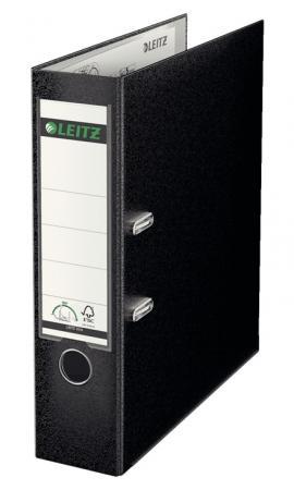Папка-регистратор LEITZ 180°, 80 мм, полипропилен, черный 10101295 цены онлайн