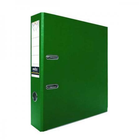 Папка-регистратор с покрытием PVC, 50 мм, А4, зеленая IND 5/30 PVC ЗЕЛ lacywear dg 5 ind