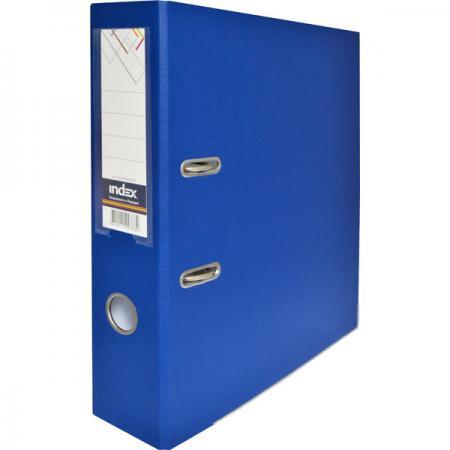 Папка-регистратор с покрытием PVC и металлической окантовкой, 80 мм, А4, синяя IND 8/50 PP NEW BU spongebob squarepants pvc anime figures 8 figure set