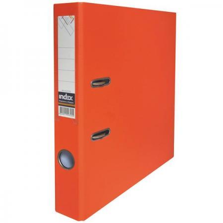 Папка-регистратор с покрытием PVC, 50 мм, А4, оранжевая IND 5/50 PP OR