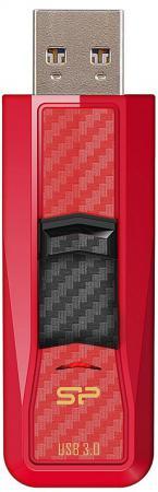 Фото - Флешка USB 64Gb Silicon Power Blaze B50 SP064GBUF3B50V1R красный флешка usb 64gb silicon power blaze b02 sp064gbuf3b02v1k черный