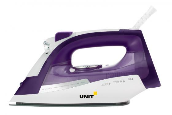 Утюг UNIT USI-284 2200Вт фиолетовый цена в Москве и Питере