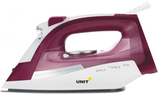 Утюг UNIT USI-285 2200Вт вишневый