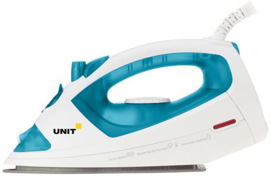 Утюг UNIT USI-191 1400Вт голубой rm1 2337 rm1 1289 fusing heating assembly use for hp 1160 1320 1320n 3390 3392 hp1160 hp1320 hp3390 fuser assembly unit