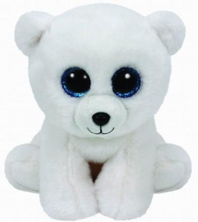 Мягкая игрушка медведь TY Мишка Arctic 25 см белый плюш 90221 трикси игрушка мишка 30см плюш