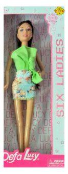 Кукла Defa Lucy Six Ladies в зеленом платье 8316green кукла defa lucy 8308