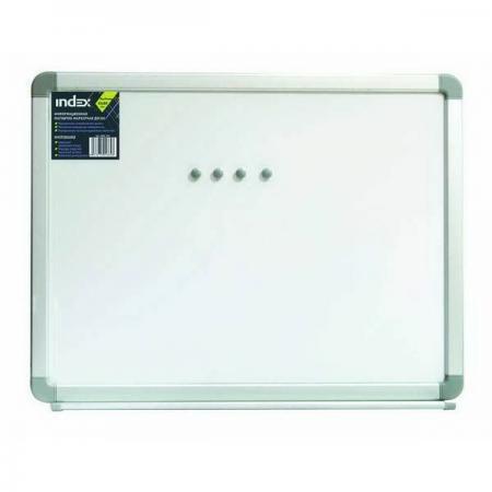 Доска магнитно-маркерная, 100х180 см, улучшенная металлическая рама IWB-306 цена и фото