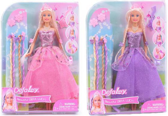 Кукла Defa Lucy Принцесса 29 см в ассортименте 8182 кукла defa lucy любимый малыш pink 5063pk