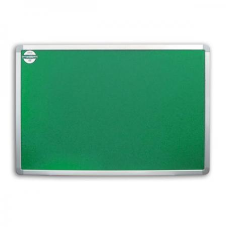 Доска текстильная 90х120 см, алюминиевая рамка, зеленая IWB-802/GN frame factory картина susana 90х120 см