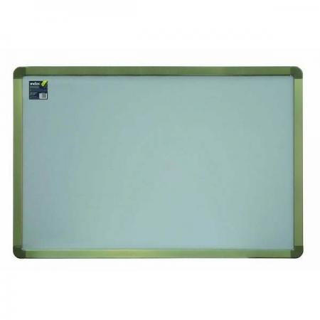 Доска текстильная 90х120 см, алюминиевая рамка, серая IWB-802/GY