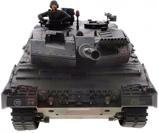 Танк на радиоуправлении VSP German Leopard2 A6 камуфляж от 14 лет пластик 628436 автомобиль на электро радиоуправлении hong kong vstank a33224453 vstank vsp 2 4g m1a2