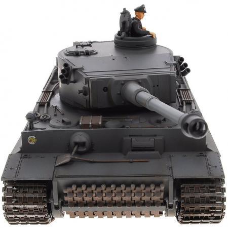 Танк на радиоуправлении VSP German King Tiger I серый от 14 лет пластик 628437 автомобиль на электро радиоуправлении hong kong vstank a33224453 vstank vsp 2 4g m1a2