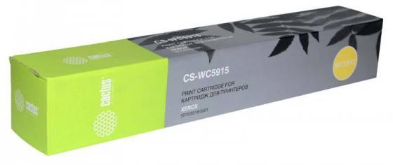 Тонер-картридж Cactus CS-WC5915 006R01020 для Xerox 5915/5918/5921 черный 6000стр тонер картридж cactus cs ph3100 черный для xerox phaser 3100mfp 6000стр