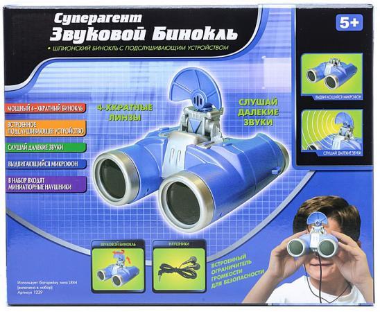 Игровой набор Суперагент Звуковой бинокль 1239 missiya игровой набор суперагент звуковой бинокль