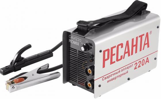 Аппарат сварочный Ресанта САИ 220 65/22 инверторный сварочный аппарат инверторный ресанта саи 250к компакт