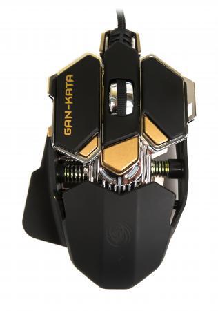 Мышь проводная Dialog Gan-Kata MGK-50U чёрный USB комплект dialog gan kata kmgk 3020u usb