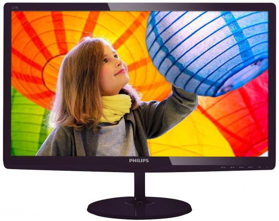 "все цены на Монитор 27"" Philips 277E6LDAD черный TFT-TN 1920x1080 300 cd/m^2 1 ms DVI HDMI VGA Аудио онлайн"
