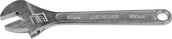 Ключ Stayer Master разводной 10 250мм 2725-25 ключ разводной хромированный 10 250мм обливная ручка промис