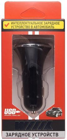 Автомобильное зарядное устройство Wiiix UCC-3-4 2.1/1А 3 x USB черный цена и фото