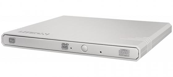 Внешний привод DVD±RW Lite-On eBAU108 USB 2.0 белый Retail привод dvd rw lite on ebau108 белый usb slim