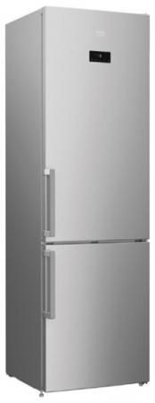 beko rcnk 320e21 x Холодильник Beko RCNK321E21X серебристый